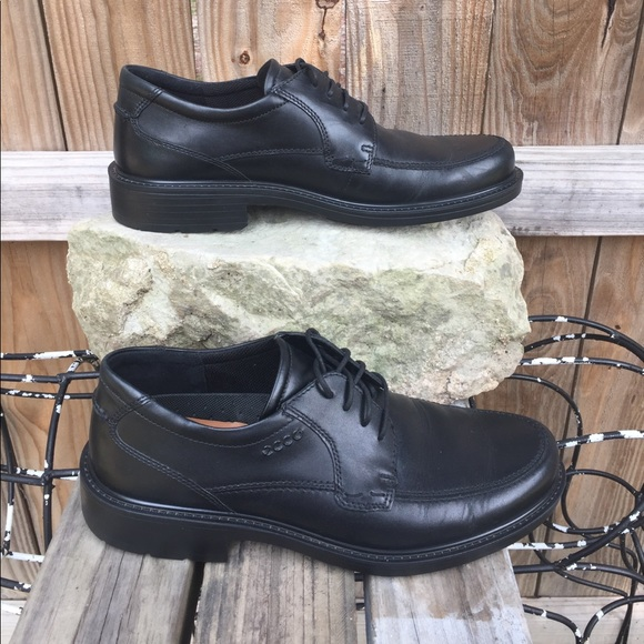 c3ae29fdde27 Ecco Other - Ecco Boston Tie Black Lace Up Dress Shoe 9-9.5 43